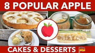 German Apple Cakes - German Apple Desserts