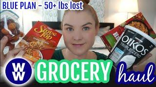 My WW Blue Plan Weekly Grocery Haul and Meal Plan - Weight Watchers