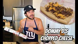 How To Make A Chopped Cheese Sandwich