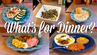What's for Dinner?| Easy Family Meal Ideas| August 19-25th, 2019