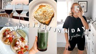 WHAT I EAT IN A DAY GLUTEN FREE! Lunch & dinner ideas! Truly Jamie
