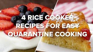 4 Rice Cooker Recipes for Easy Quarantine Cooking •Tasty Recipes