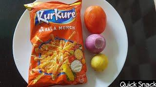 Quick Evening Snack Recipe | Very Tasty Evening Snacks | One Minute Kurkure Chat Lockdown Recipes