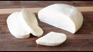 How to Make Mozzarella Cheese 2 Ingredients Without Rennet | Homemade Cheese Recipe