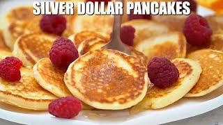 How to Make Mini Pancakes or Silver Dollars - Sweet and Savory Meals