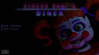 Nights 1 and 2 + Menu Music | Circus Baby's Diner Gameplay | FNaF Fangame