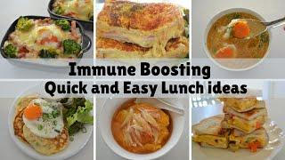 IMMUNE BOOSTING! ★Quick and Easy Lunch★6 easy recipes (EP170)