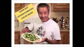 SUPER EASY CHICKEN & BROCCOLI STIR FRY RECIPE- Lockdown Cooking Series Video # 22