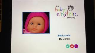 Baby Einstein Language Nursery (Latin American) 2005 DVD Menu WalkThrough