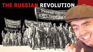 History Reacts l 'Russian Revolution 1917' By Epic History TV
