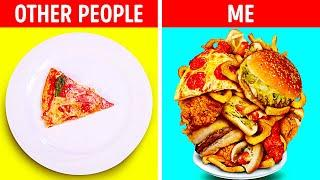 22 FUNNY FACTS ABOUT FOOD LOVERS || Delicious Indian Recipes And Pizza Hacks!