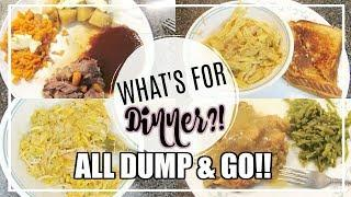What's For Dinner? | Easy Dump & Go Crockpot Meals | The Welders Wife