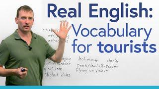 Learn English Vocabulary for Tourism: resort, cruise, charter, all-inclusive…
