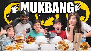 Buffalo Wild Wings Mukbang | Trying Buffalo Wild Wings Menu Items | PHILLIPS FamBam Mukbang