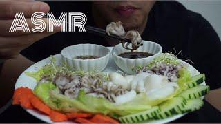 ASMR BABY OCTOPUS & SQUID NO TALKING EATING SOUND