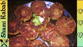 Shami Kabab|Mutton Shami Kabab Recipe by(FOOD FOR FAMILY)|Delicious & Tasty|Quick Snack & Appetizer|