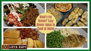 What I Cooked for Dinner this week | Easy Ideas to Cook at Home