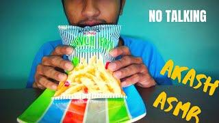 ASMR MOST POPULAR FOOD FRENCH FRIES CRACKERS CHIPS (EATING SOUNDS) NO TALKING | AKASH ASMR