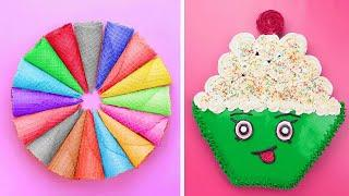 10 Cute Cupcake Decorating Ideas For Party | Amazing Chocolate Cake Recipes | So Yummy Cake