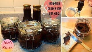 Choco-Dates Syrup and Jam | Iron-Rich Recipes for Kids | Healthy Drink and Jam for Kids