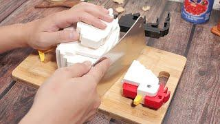 Making Lego Honey Grilled Chicken - Lego In Real Life #7 / Stop Motion Cooking & ASMR 4K
