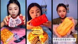 [Crepe Roll Desserts] delicious desserts/ ASMR Mukbang/ Army