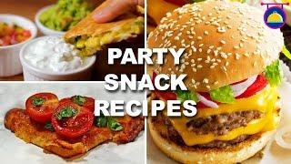 5 Amazing Party Snack Ideas | Episode 9 | Quick and Easy Recipes | Cooking Co.