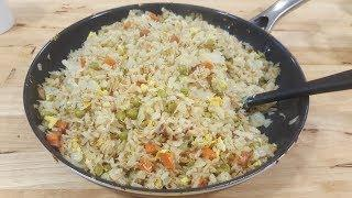Fried Rice - Chicken Fried Rice - One Pot Meal - Giveaway - The Hillbilly Kitchen