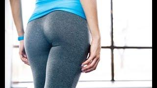 Cumming in My Panties & Yoga Pants and Pull Them Up Before Gym