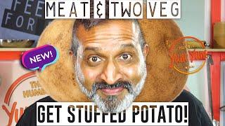 PART 2 of GET STUFFED POTATO! - Meat and TWO Veg! - Feed 4 for under $20! ONE POT - ONE PAN