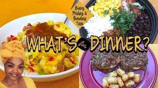 WHAT'S FOR DINNER? | EASY BUDGET  MEALS + RECIPES | EASY DINNER MEAL IDEAS SIMPLE | MEALS