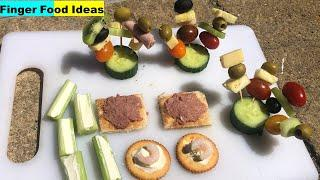 Finger Food Ideas For Party | Drink Appetizers
