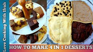4 IN 1 DESSERTS | TASTY AND EASY DESSERTS (2020)