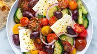 Our Favorite Greek Salad Recipe