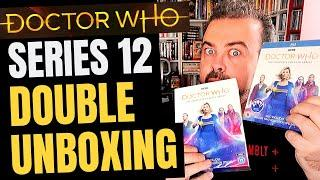 DOCTOR WHO Series 12 DVD and Blu-ray unboxings! Are the two formats different?