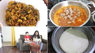 Easy & Quick Dinner Recipe | How To Make Pizza dough at Home | Indian Daily Vlogger |