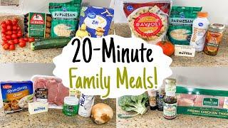 20-MINUTE MEALS! | 5 Fast & Tasty Weeknight Dinners Made EASY! | Julia Pacheco