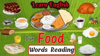 Our foods name in english with spelling | learn foods name for Kids | foods pictures