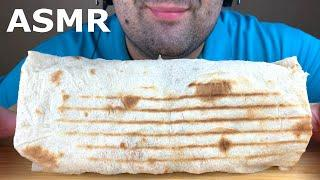 ASMR GIANT SHAWARMA WITH GRILLED CHICKEN MUKBANG 먹방 (EATING SOUNDS) EATING SHOW