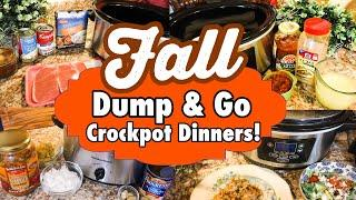 *SIX* DUMP AND GO CROCKPOT RECIPES | HOMELY SLOW COOKER MEALS FOR THE WEEK *2020* | JULIA PACHECO