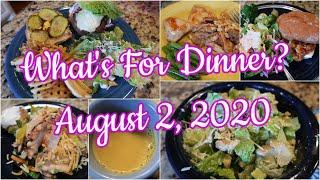 What's For Dinner? Aug 2, 2020 | Cooking for Two | Easy Weeknight Meals!