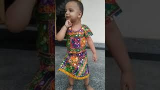 Cute Baby Sings The Song #Menu Lengha le de