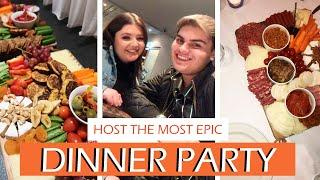 How To Host an EPIC Dinner Party! Food, Drinks & Entertaining Ideas + Tips