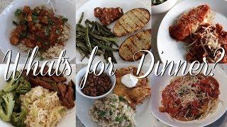 What I Made for Dinner This Week | 6 Healthy Delicious Dinners