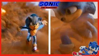 Desert chase special | Sonic the Hedgehog Movie 2020 DVD behind the scenes bonus extras