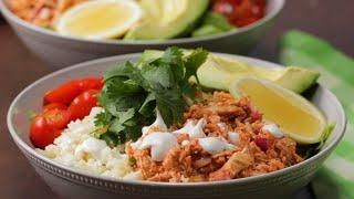 Buffalo Chicken Buddha Bowl • Tasty