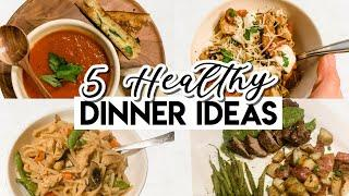 EASY & HEALTHY DINNER IDEAS! ((EASY & AFFORDABLE MEALS 5 INGREDIENTS OR LESS!))