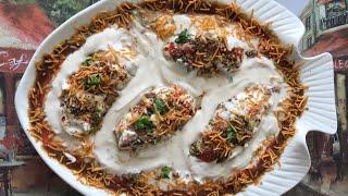 Royal bhallas stuffed with dry fruits very delicious party dish recipe