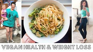 VEGAN HEALTH AND WEIGHT LOSS Q & A // PLUS Easy 5 Minute noodle dish // Whole Food Plant Based Diet