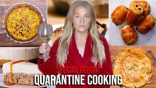 5 TASTY RECIPES FOR A GLOBAL PANDEMIC (Quarantine Cooking With Alix)